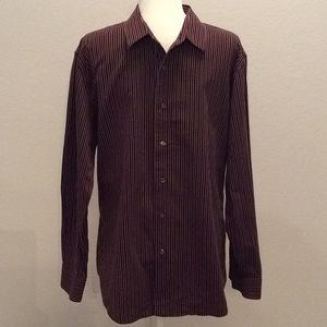 APT.9 Men's Striped Dress Shirt